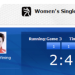 Cheering for Singapore Table Tennis Player – Li Jia Wei
