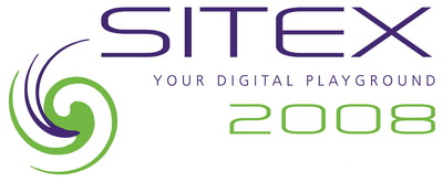SITEX 2008 Logo - Your Digital Playground