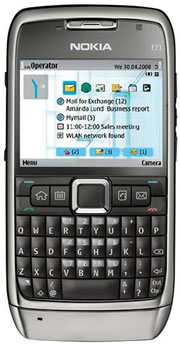 Nokia E71 from M1 Shop
