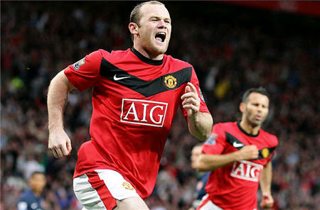 Wayne Rooney Scored The Penalty Against Arsenal