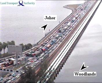 Causeway Traffic image taken on Saturday morning of July 2011