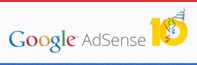 Google AdSense 10 Years