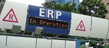 erp gantry ERP Rates Increases to $6 for 4 Gantries