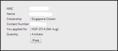 ndp2014 submission Apply Balloting for Singapore NDP 2014 Tickets