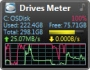 Drive Meter 4.3 - Windows Desktop Gadget