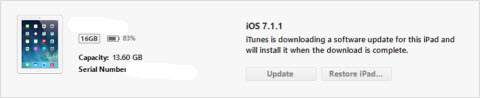 iOS Upgrade to 7.1.2
